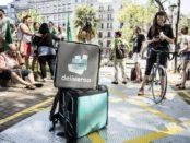 Protesta dels treballadors de Deliveroo a Barcelona | VICTOR SERRI