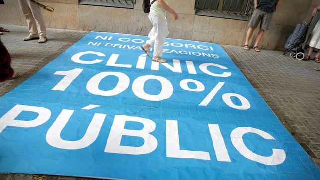 Lo que podría venir con la ley Comín: Barnaclínic como ejemplo de ofrecer sanidad privada en los hospitales públicos