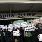 Usuaris i treballadors demanen més mobilització en defensa de la sanitat pública en una jornada de lluita estatal