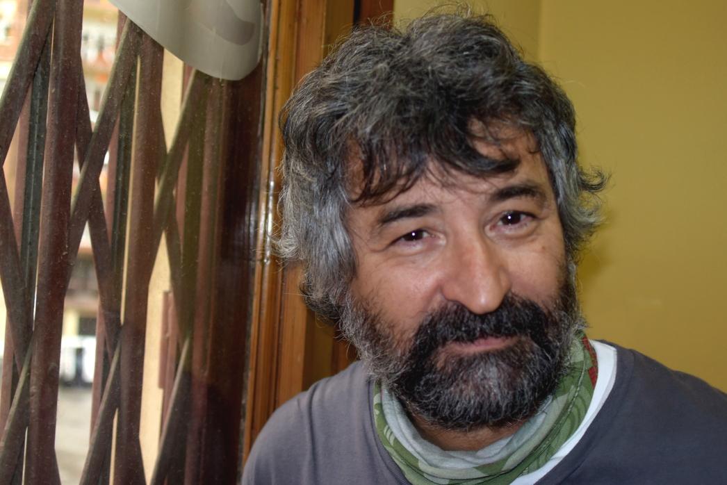 Jordi Gassiot, durante la entrevista foto: Tomeu Ferrer