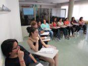 Treballadores del grup Mujeres p'alante es formen laboralment