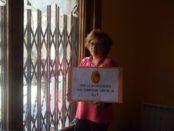 Isabel Valle, de Libélulas té clara quina es la reivindicació de les treballadores de la llar foto: Tomeu Ferrer