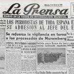 El periodisme en temps de Franco o l'odissea de mantenir la dignitat