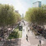 El 52% de la población del área de Barcelona está a favor de la unión del tranvía por la Diagonal