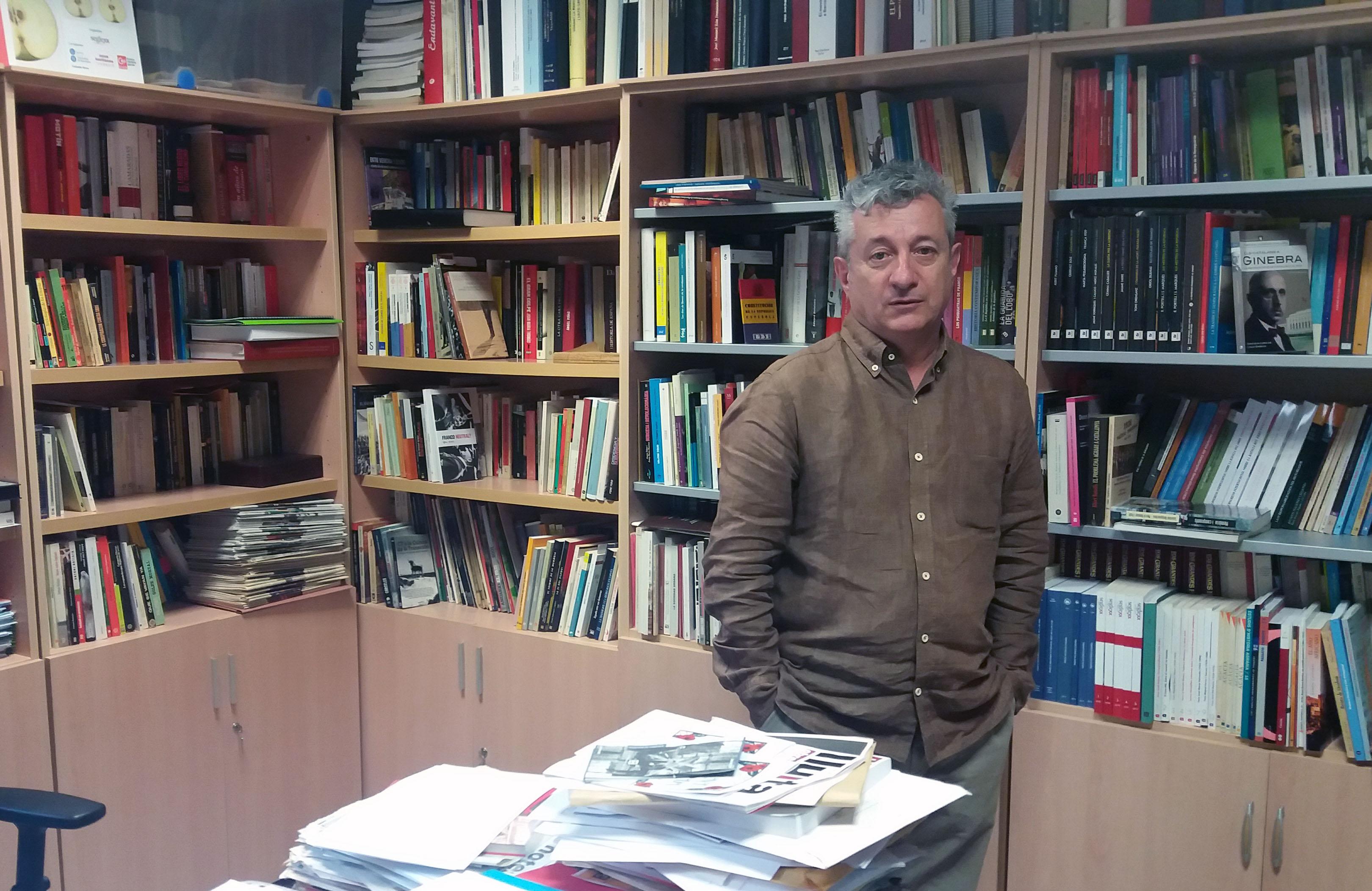 """Andreu Mayayo: """"Puigdemont es la caricatura de Companys"""""""