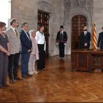 La presència de dones recula al nou Govern Torra, de cinc es passa a tres