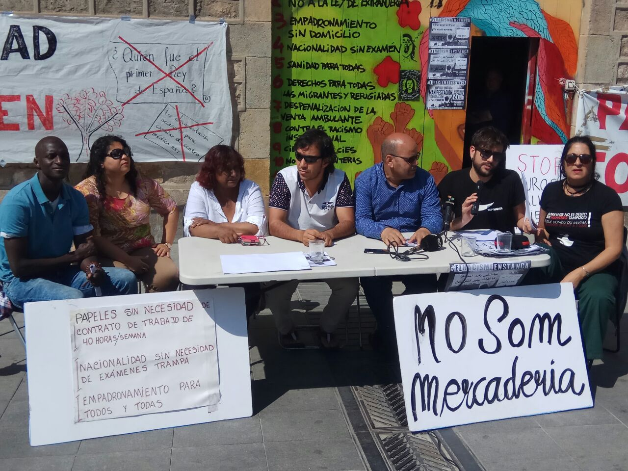 La manifestació migrant de diumenge guanya múscul: mig miler d'entitats se sumen a la protesta