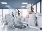Robots en un 'call center'