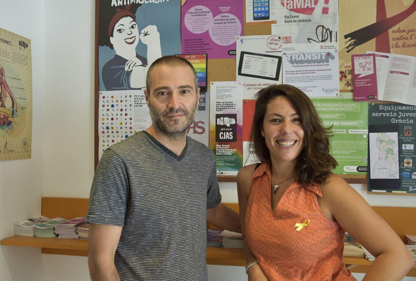 Georgina Picas Bernadell i Jordi Baroja Benlliure