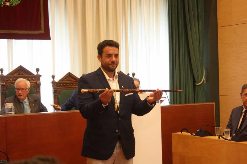 Àlex Pastor, alcalde de Badalona pel PSC : foto Javi Torres L'Independent BDN