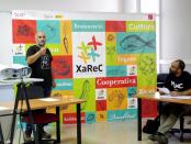 Presentación de la Xarec en Manresa
