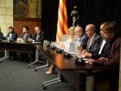 Firma del Acuerdo Interprofesional de Catalunya foto: Tomeu Ferrer