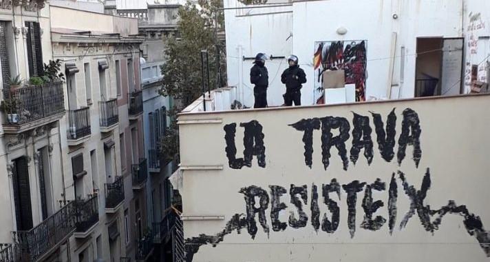 """Ca la Trava o l'okupació com """"única manera de tenir un sostre sota el que viure"""""""