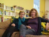 Júlia Vega e Isabel Muntané, socias de la cooperativa feminista Almena foto: Tomeu Ferrer