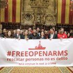"""Open Arms, medalla d'Or al Mèrit Cívic de Barcelona per """"ser una organització que salva Europa de si mateixa"""""""