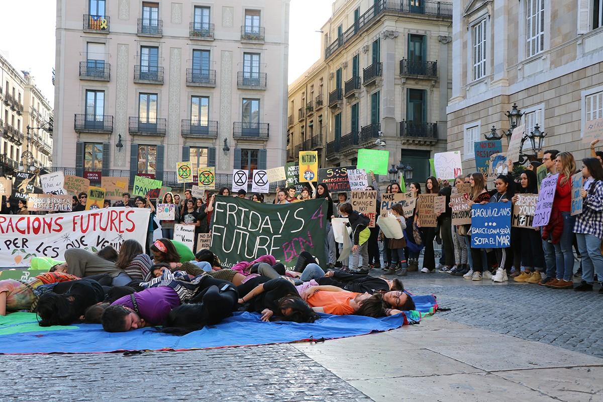 Los 'Fridays for future' en defensa del clima llegan a Catalunya