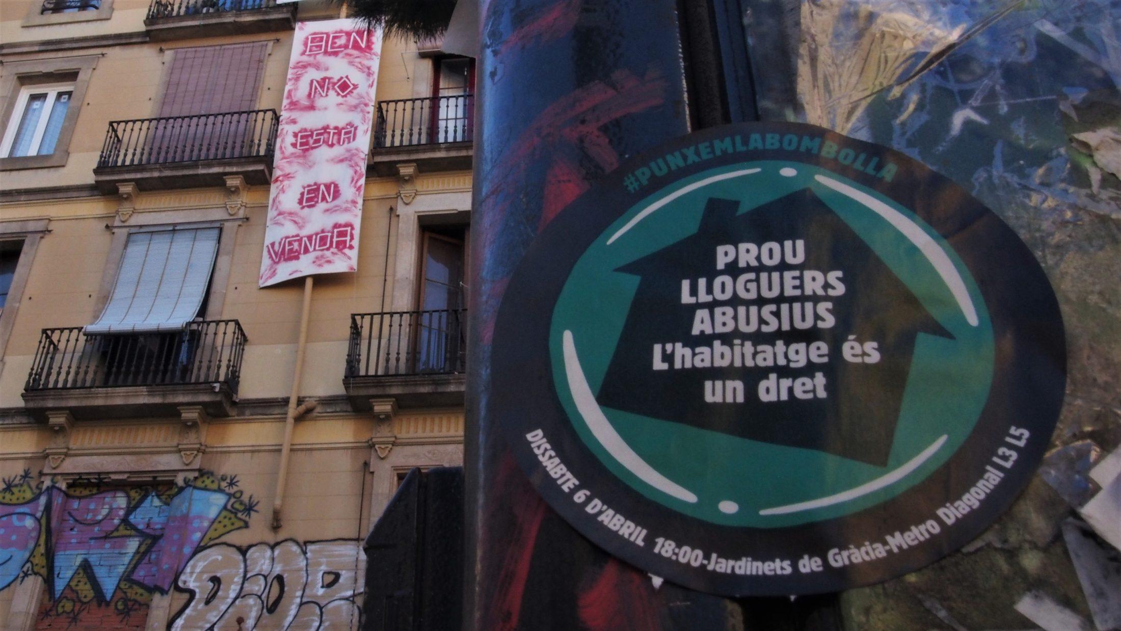 Resistir, ocupar o ceder: las alternativas para hacer frente a la crisis de alquiler de Barcelona