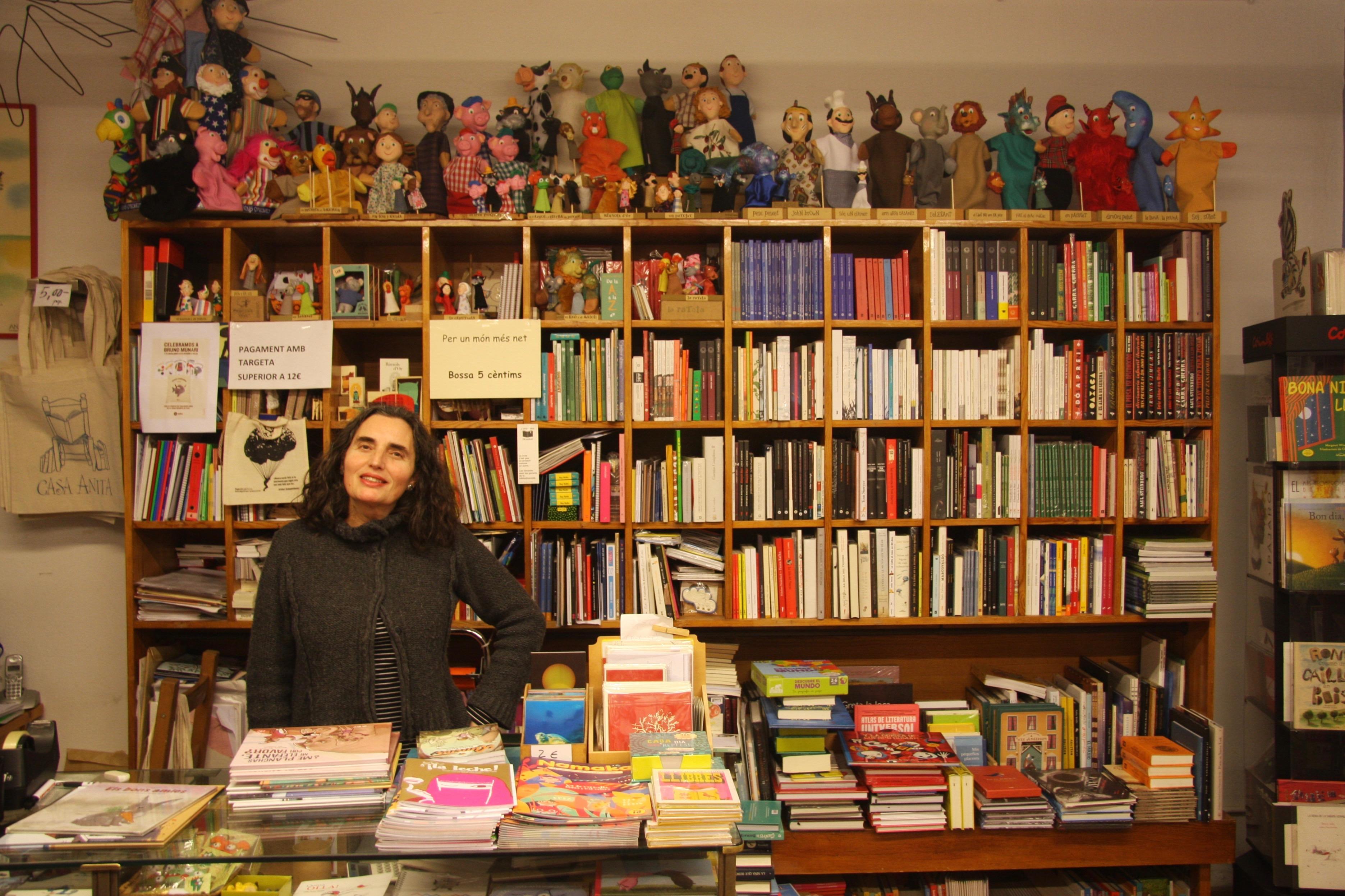 Llibreria Anita: un oasi al cor de Gràcia