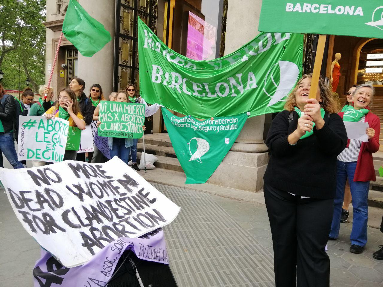 La Marea Verde entra de nuevo el proyecto de ley para un aborto legal, seguro y gratuito en Argentina