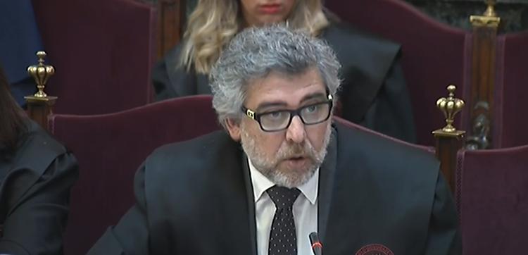 """Jordi Pina: """"El Ministeri Fiscal no ha estat capaç de provar ni una breu violència"""""""