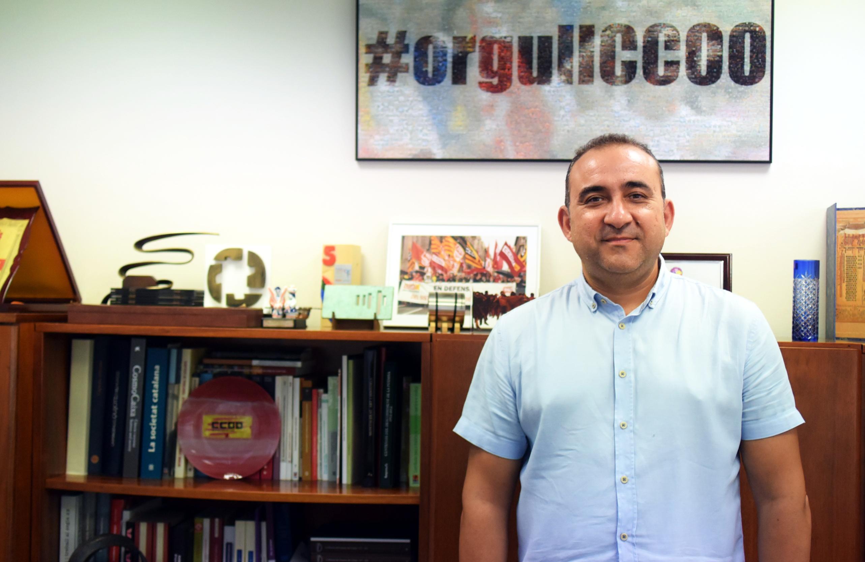 """Javier Pacheco: """"El control horari, el fre als falsos autònoms o reconèixer malalties professionals a 'les Kellys' mostren la utilitat del sindicalisme"""""""