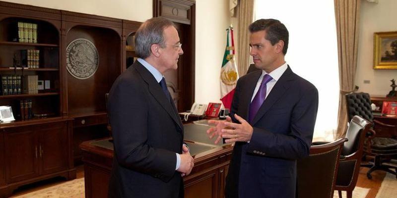 Els 'pelotazos' de Florentino Pérez a Mèxic